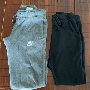 2 Boys Sweat Panst size XS and 7